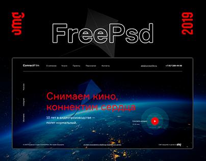 Website. Free PSD