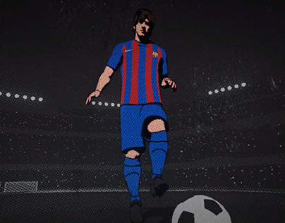 Messi 700th
