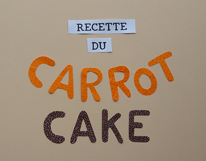 FOOD ART - Carrot Cake
