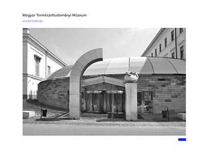 Magyar Természettudományi Múzeum branding redesign