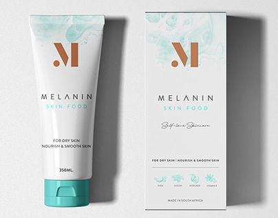 African Skin Cosmetics Brand and Packaging Design