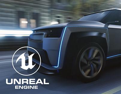 Concept Car 03 - UE4 Car Render