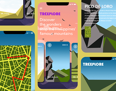 Concept App for Hikers