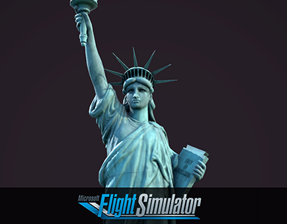Flight Simulator Statue of Liberty