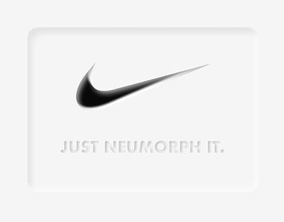 Nike Neumorphism