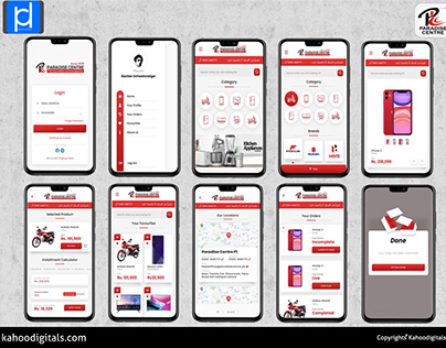 E-Commerce App Design And Developmetn