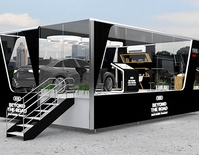 BEYOND THE ROAD - AUDI MOBILE TERMINAL.