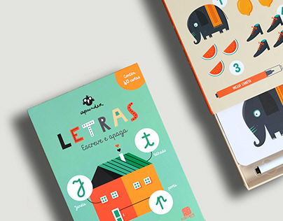 Letras & números - Letters and numbers - Wipe and clean