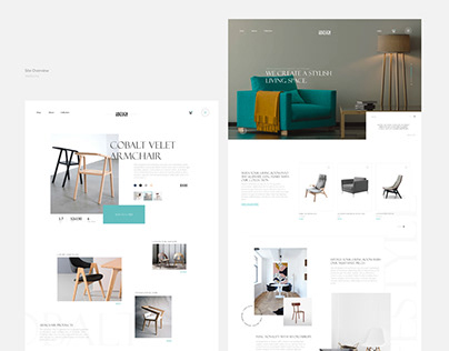 Furniture eCommerce store