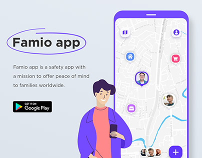 Famio app by Harmonybit