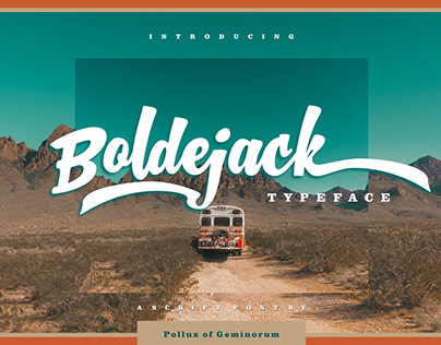 Boldejack - Script Typeface