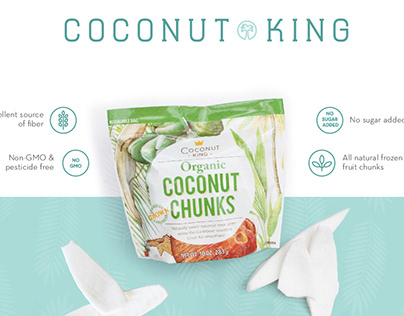Coconut King Branding
