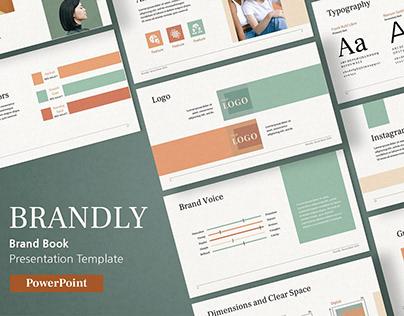 Brand Book PowerPoint Template