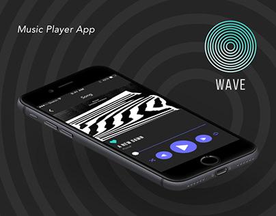 Wave Music Player App