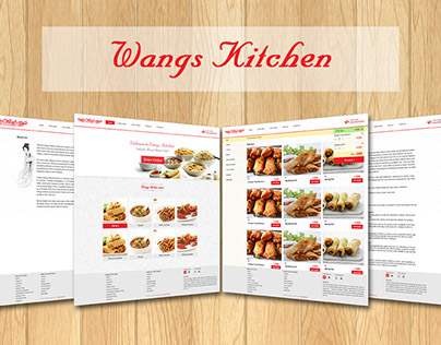 Wangs Kitchen Website Design