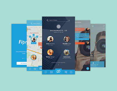 Fipro - Find Proffesional mobile app
