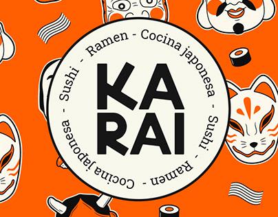KARAI - Japanese Restaurant Branding