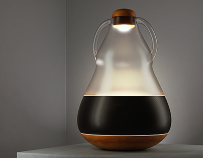 Music Led Lamp Concept