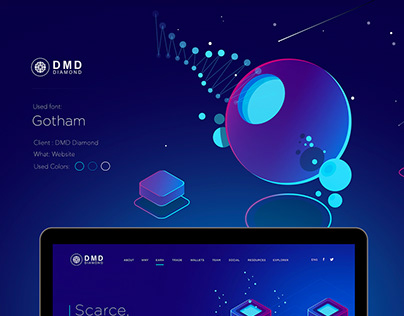 DMD Cryptocurrency official website / Gravity Warsaw