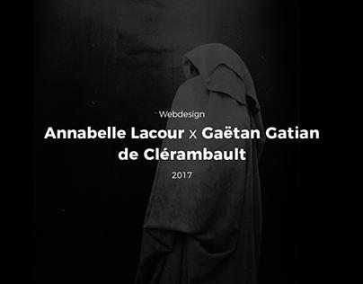 Clérambault x Lacour - Webdesign