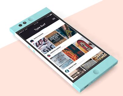Type Surf App