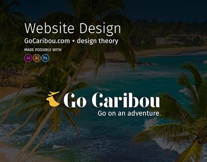 GoCaribou.com - Travel Website Design