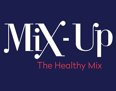MIX-UP - Branding for a healthy breakfast shop