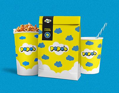 Popos Popcorn - Branding