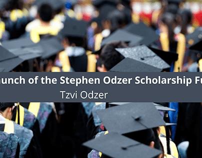 Tzvi Odzer Announces the Launch of the Stephen