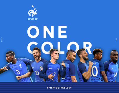 ONE COLOR - France EURO 2016