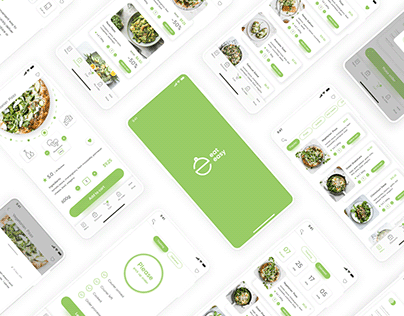 Mobile food delivery app. IOS