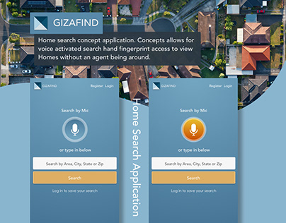 GizaFind Home Search App