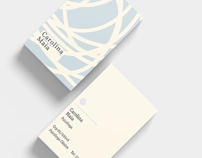 Cartão de Visita Carolina Maia