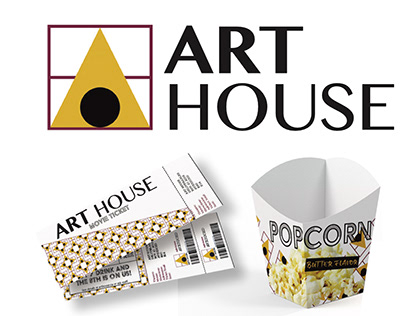 Art House Theatre Brand Identity