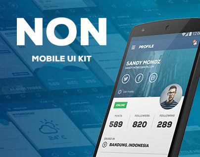 NON - Mobile UI Kit