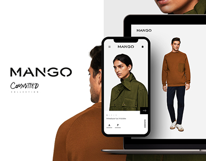 Mango Committed. Interactive shopping experience