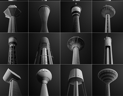 WATER TOWERS OF LUXEMBOURG: A PICTOGRAPHIC STUDY