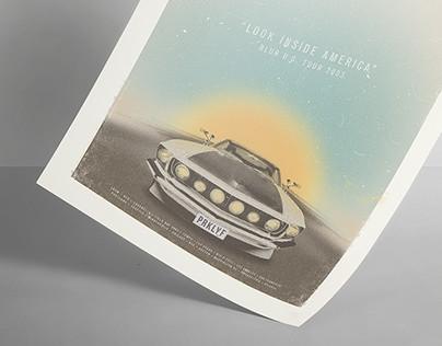 "Blur ""Think Tank"" Tour Poster"