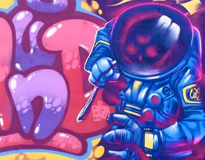 CUBAS TRRBLS - StreetArt Graffiti