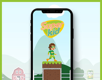 Blédina SuperKid - Game Design - 2019