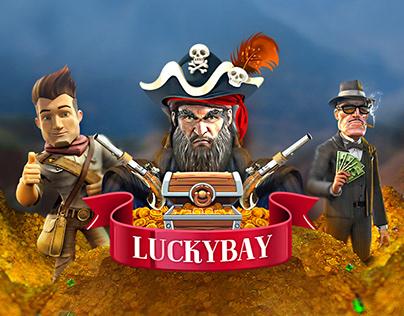 LuckyBay - Online Game Platform
