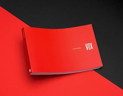 VOX Rebranding