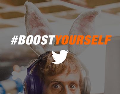 #BoostYourself