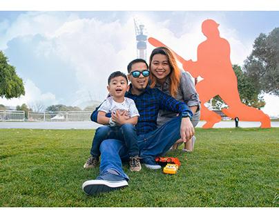 العائلة السعيدة هي مفتاح الحياة الناجحة .
