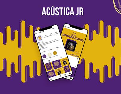 Redesign - Acústica Jr.
