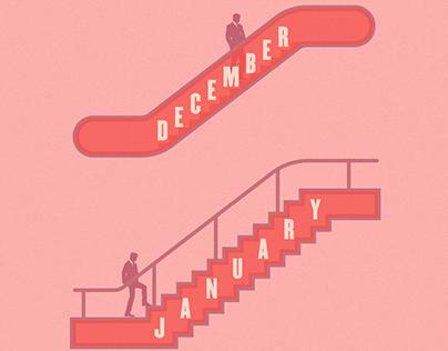 La cuesta de enero