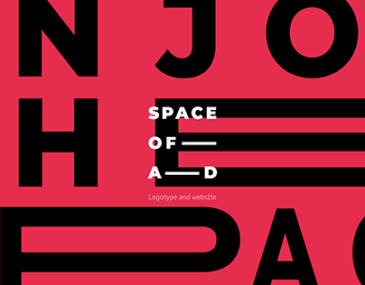 Space Of Ad - logotype and website