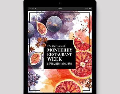Monterey Restaurant Week Campaign