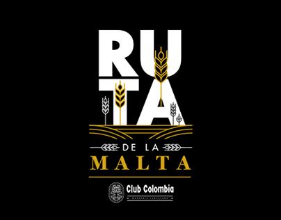 SITE RUTA DE LA MALTA - CLUB COLOMBIA