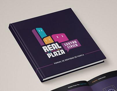 """""""Real Plaza: centro cívico"""" - Re-diseño & señalética"""
